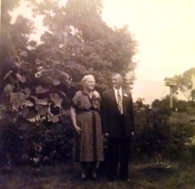 Ernestina and August H. Rettammel, Sr. August 1959