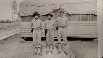 Art Rettammel, far right 1941
