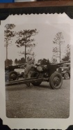 Art Rettammel, 121st Field Artillery, WWII in training 1941